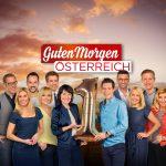 """""""Guten Morgen Österreich"""", """"Das ORF-Frühfernsehen feiert Ein-Jahres-Jubiläum."""" Neun Bundesländer, drei Stunden Sendezeit pro Tag, zwei Moderatoren und ein mobiles Studio, das jeden Tag an einem neuen Schauplatz Halt macht: """"Guten Morgen Österreich"""" heißt es , wenn der ORF mit der gleichnamigen Sendung mit seinem Frühfernsehendurch das ganze Land tourt. Nächste Woche feiert das Frühfernsehen des ORF feiert sein einjähriges Sendungsjubiläum - und Kärnten feiert mit. Die morgendliche Route führt Eva Pölzl und Marco Ventre nach Steindorf am Ossiacher See und Himmelberg nach Feldkirchen, wo das einjährige Sendungsjubiläum gefeiert wird.Im Bild: Die Moderatorinnen und Moderatoren von """"Guten Morgen Östereich"""", v.l. David Breznik, Nina Kraft, Patrick Budgen, Sabine Amhof, Martin Ganster, Eva Pölzl, Lukas Schweighofer, Marco Ventre, Jutta Mocuba, Oliver Zeisberger, Nadja Mader. - Veroeffentlichung fuer Pressezwecke honorarfrei ausschliesslich fuer die redaktionelle Berichterstattung in Zusammenhang mit Sendungen oder Veranstaltungen des ORF. Foto: [M] ORF. Andere Verwendung honorarpflichtig und nur nach schriftlicher Genehmigung der ORF-Fotoredaktion. Copyright: ORF, Wuerzburggasse 30, A-1136 Wien, Tel. +43-(0)1-87878-13606"""
